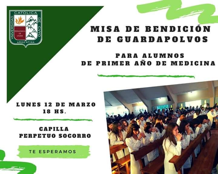 Misa de Bendición de Guardapolvos